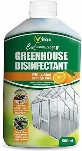 Vitax Summer Cloud Greenhouse Disinfectant - 500ml